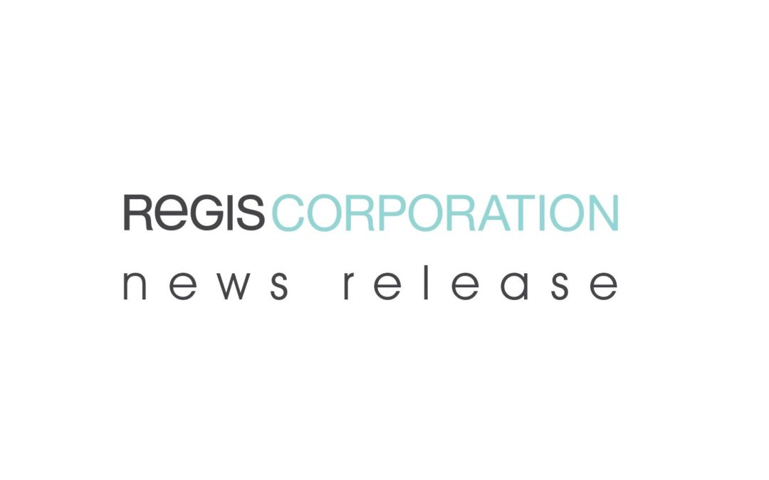 Regis® Announces Agreement to Franchise the Holiday Hair Brand and Sell an Additional 133 Company-Owned Salons to the Alline Salon Group